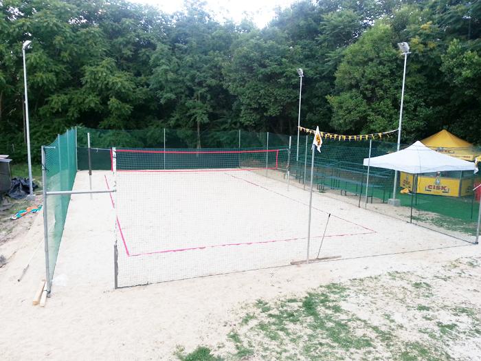 Beach volley tennis : cosmostennis